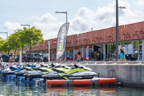 Alquiler moto de agua Sea Riders Badalona