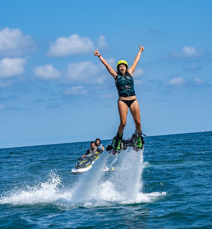 flyboard sea riders badalona